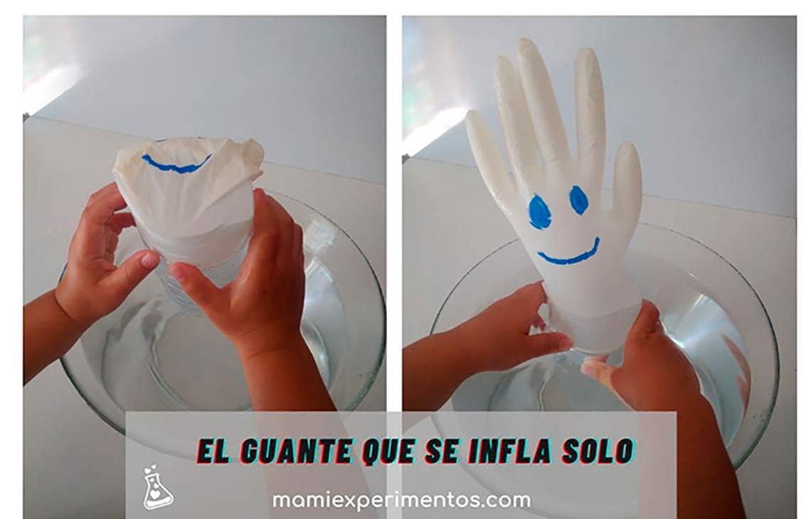 Experimento el guante que se infla solo