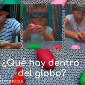 Actividad sensorial que hay dentro del globo