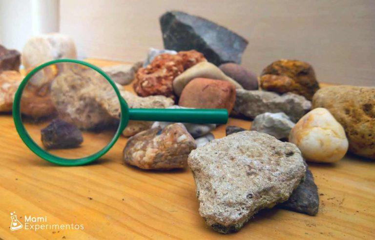 Actividad sensorial centro de interpretación de rocas