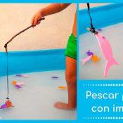 Juego de pesca con imanes