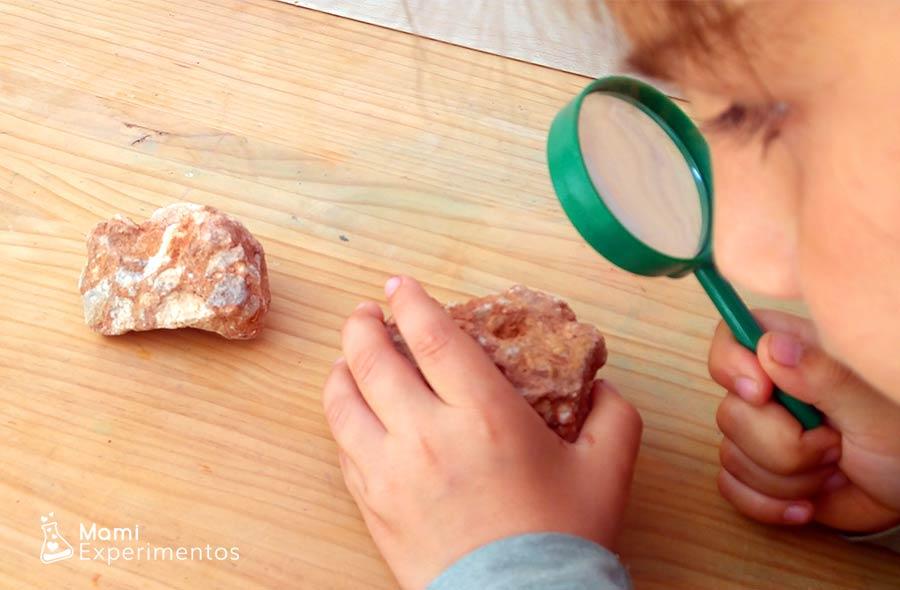 Aprendo características de las rocas sedimentarias