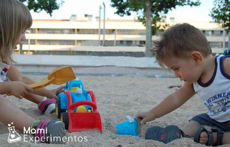 Beneficios de jugar con la arena