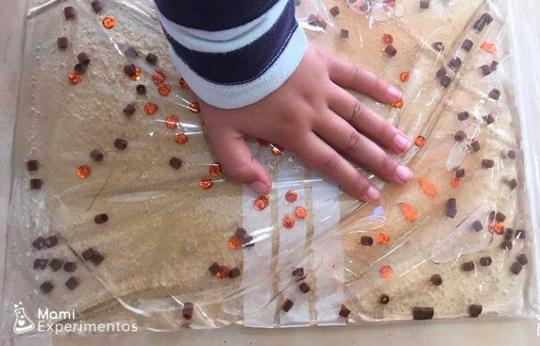 Beneficios de jugar con bolsas sensoriales
