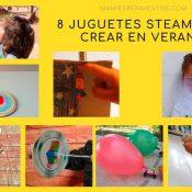 Juguetes steam para crear en las tardes de verano