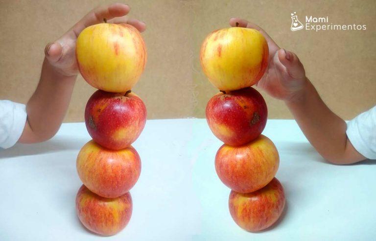 5 propuestas científicas con manzanas para realizar en otoño
