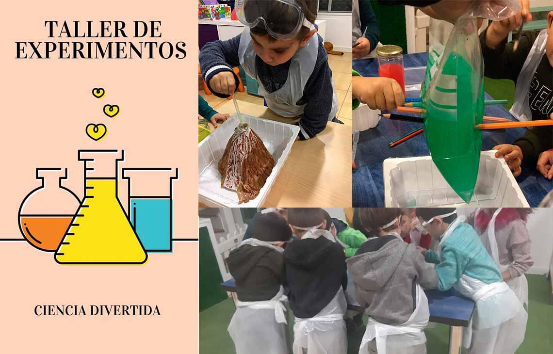 Taller de experimentos: Aprender ciencias de forma divertida
