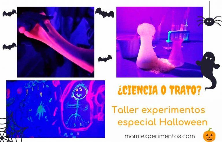 Taller experimentos especial Halloween