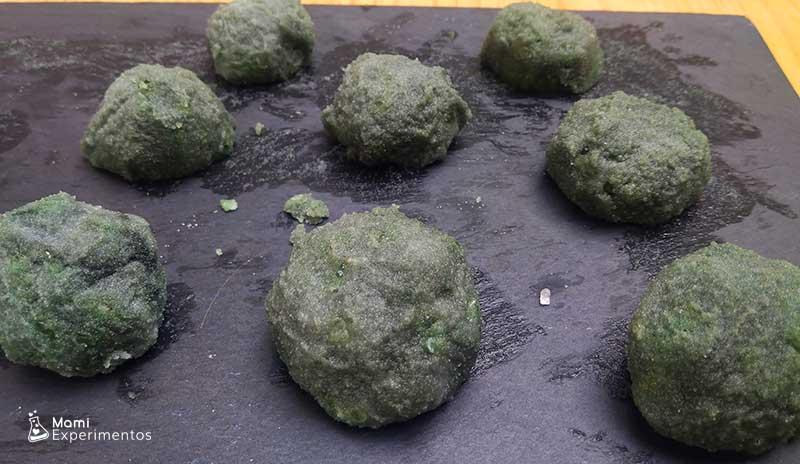 Bombas de baño de rocas lunares preparadas