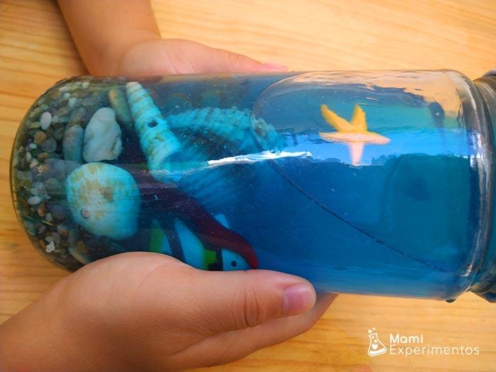 Bote sensorial del océano