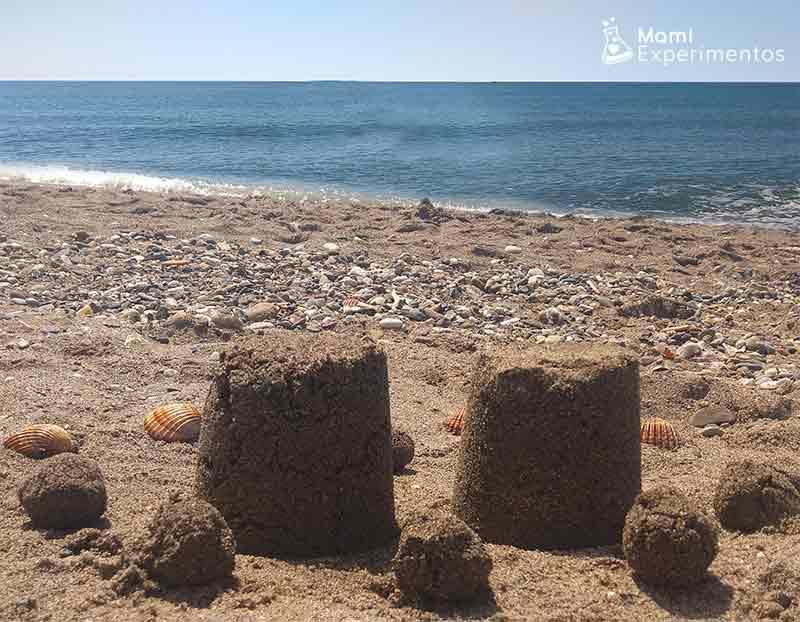 Crear castillos de arena
