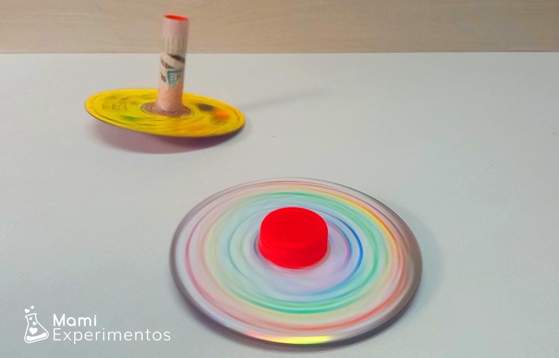 Cómo hacer spinners caseros con cds viejos