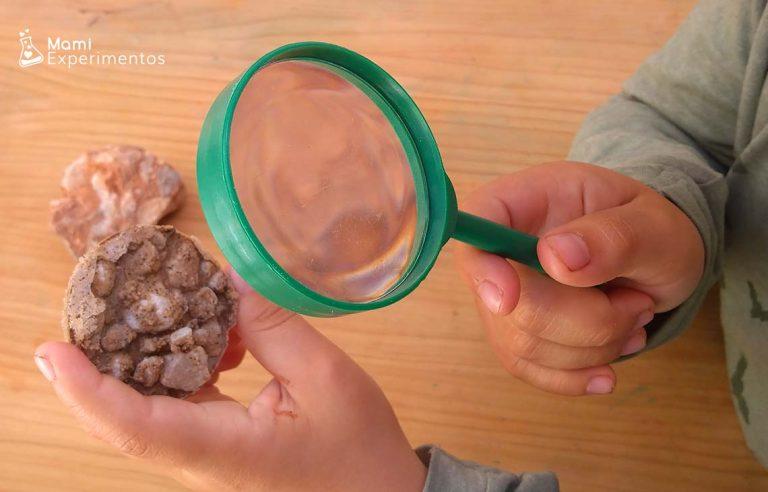 Cómo crear tu propia roca sedimentaria