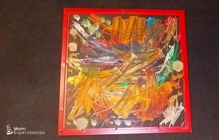 Cuadro abstracto para regalar en el día del padre