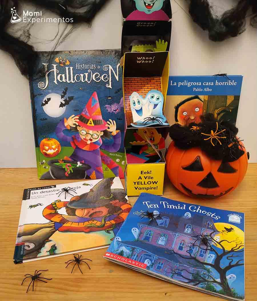 Cuentos terroríficos para la noche de Halloween