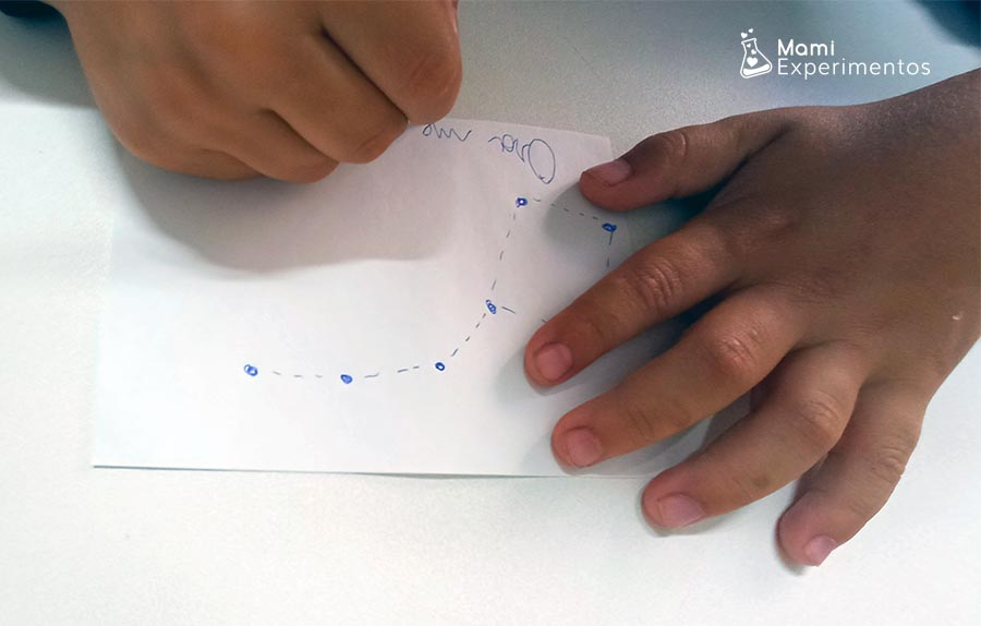 Dibujar constelaciones en plantillas aprendiendo más sobre ellas