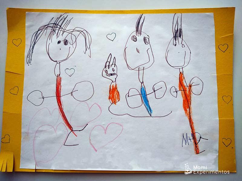 Dibujo de mi familia