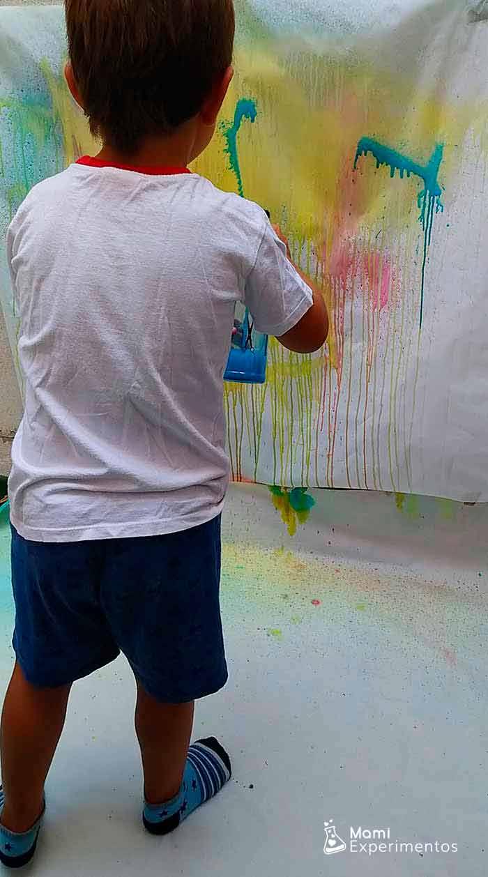 Disfrutar de la pintura con pulverizadores