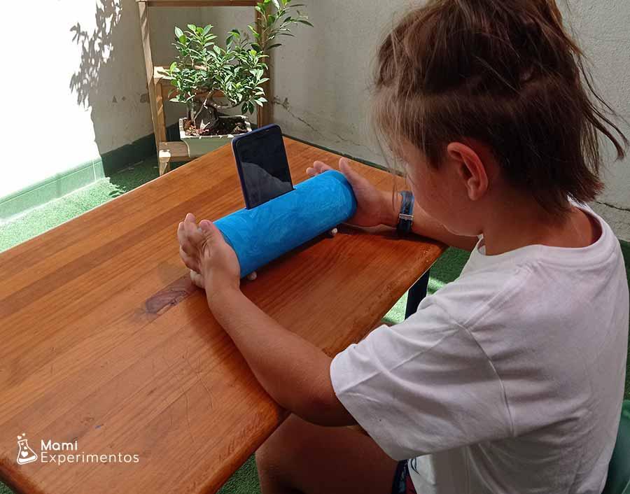 Experimentando el sonido con amplificador casero con bote pringles