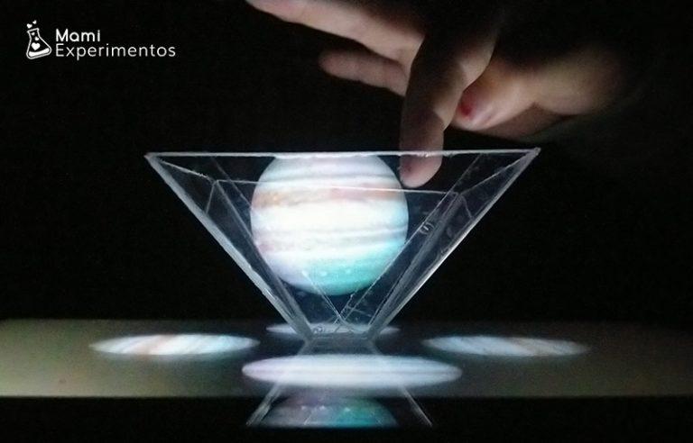 Experimento como hacer un holograma casero