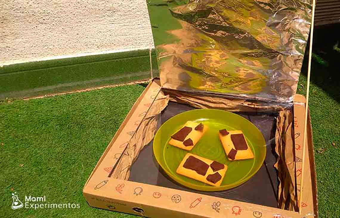 Cómo hacer un horno solar casero