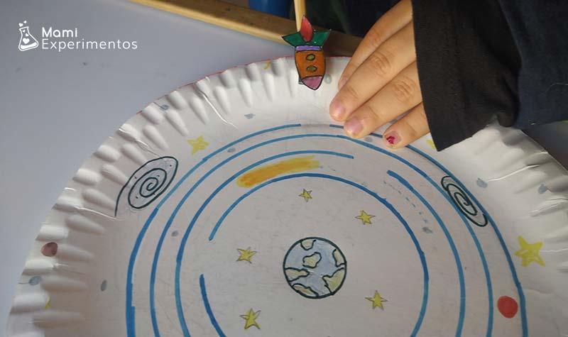 Jugando con el sistema solar con imanes