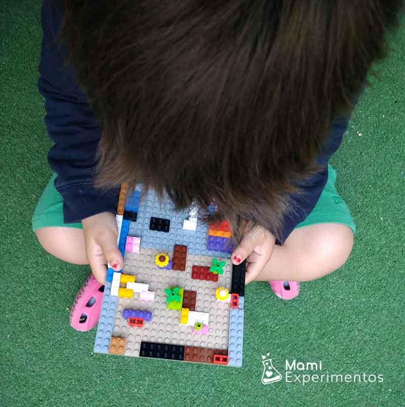 Aprender con piezas lego