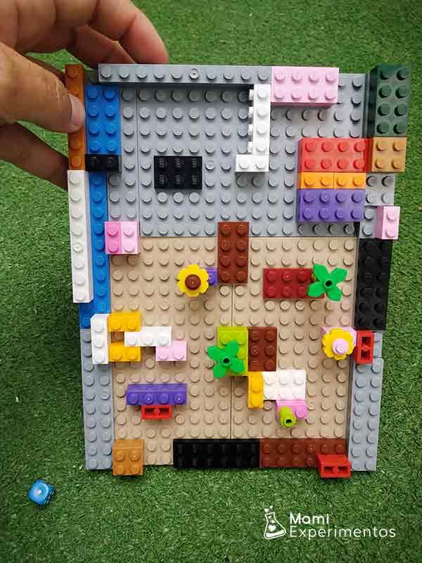 Resultado laberinto piezas lego