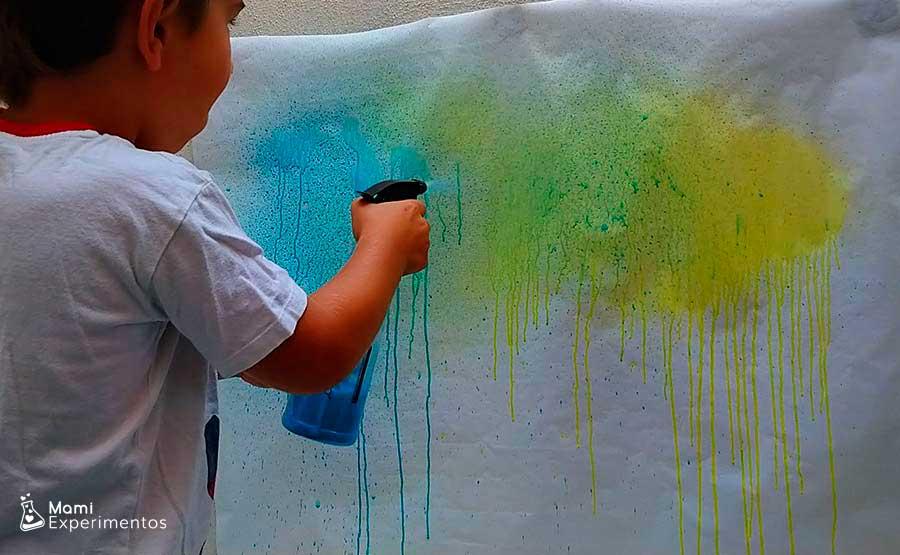 Lo divertido de pintar con pulverizadores