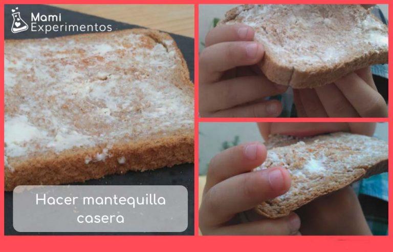 Hacer mantequilla casera fácil y sencilla