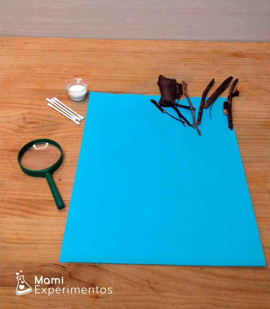 Materiales necesarios para crear árbol de invierno artístico