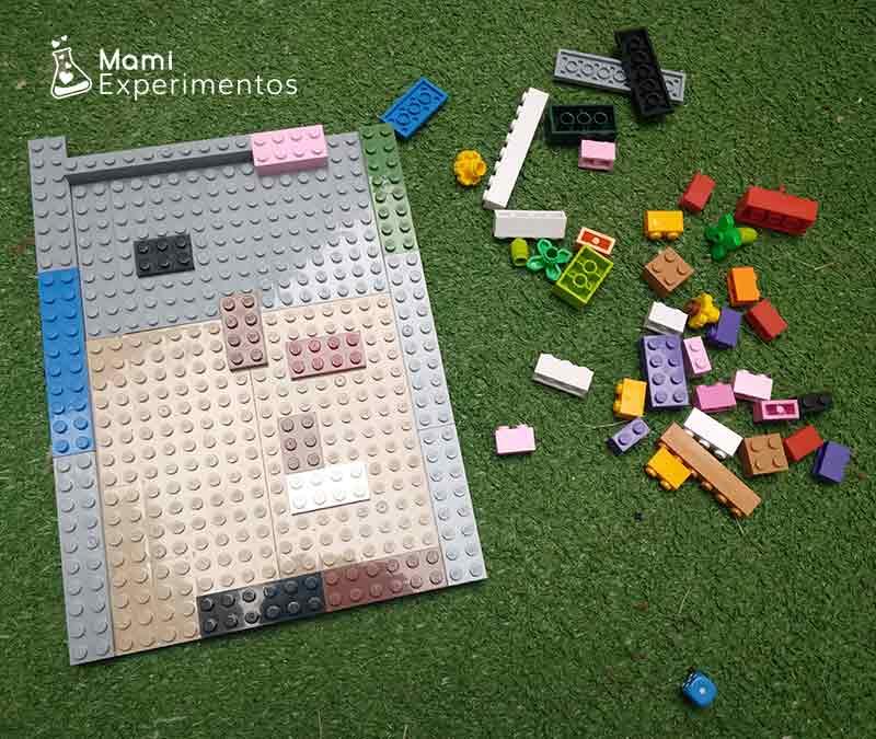 Materiales necesarios para crear laberinto lego