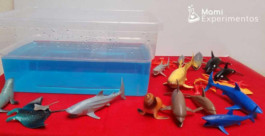 Materiales para crear un mundo marino