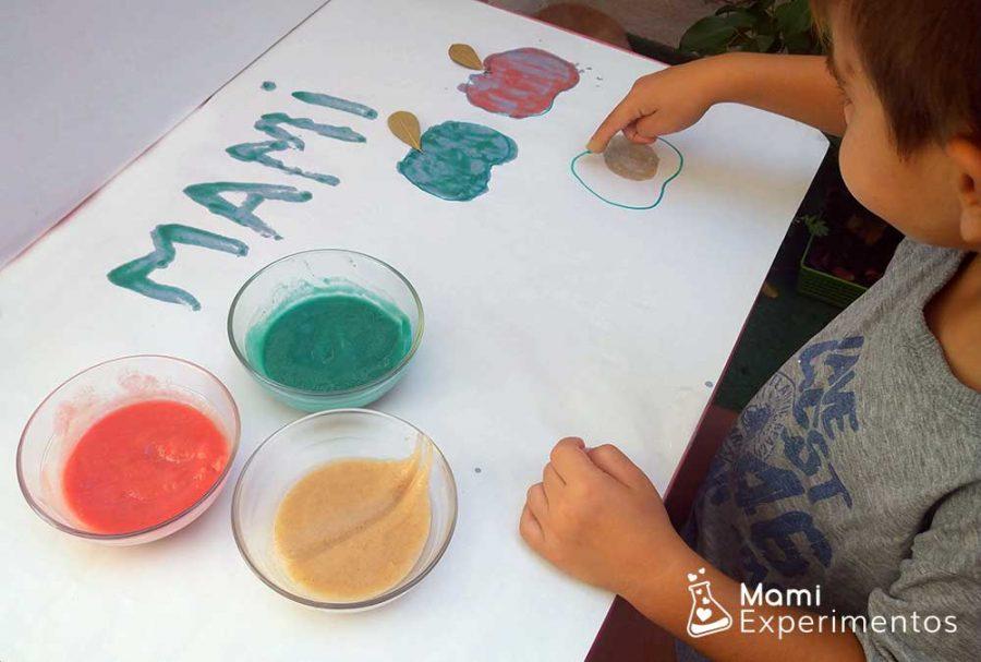 pintando manzanas