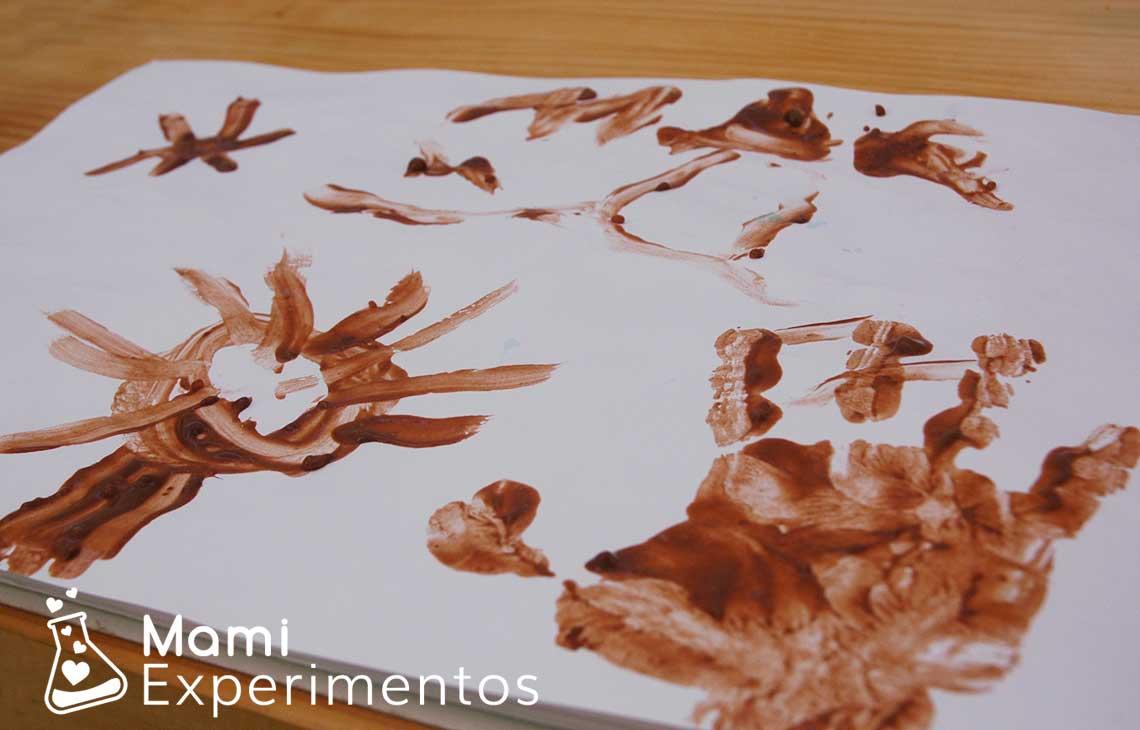 Hacer Pintura Casera De Chocolate