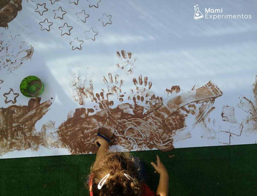 Pintura de chocolate