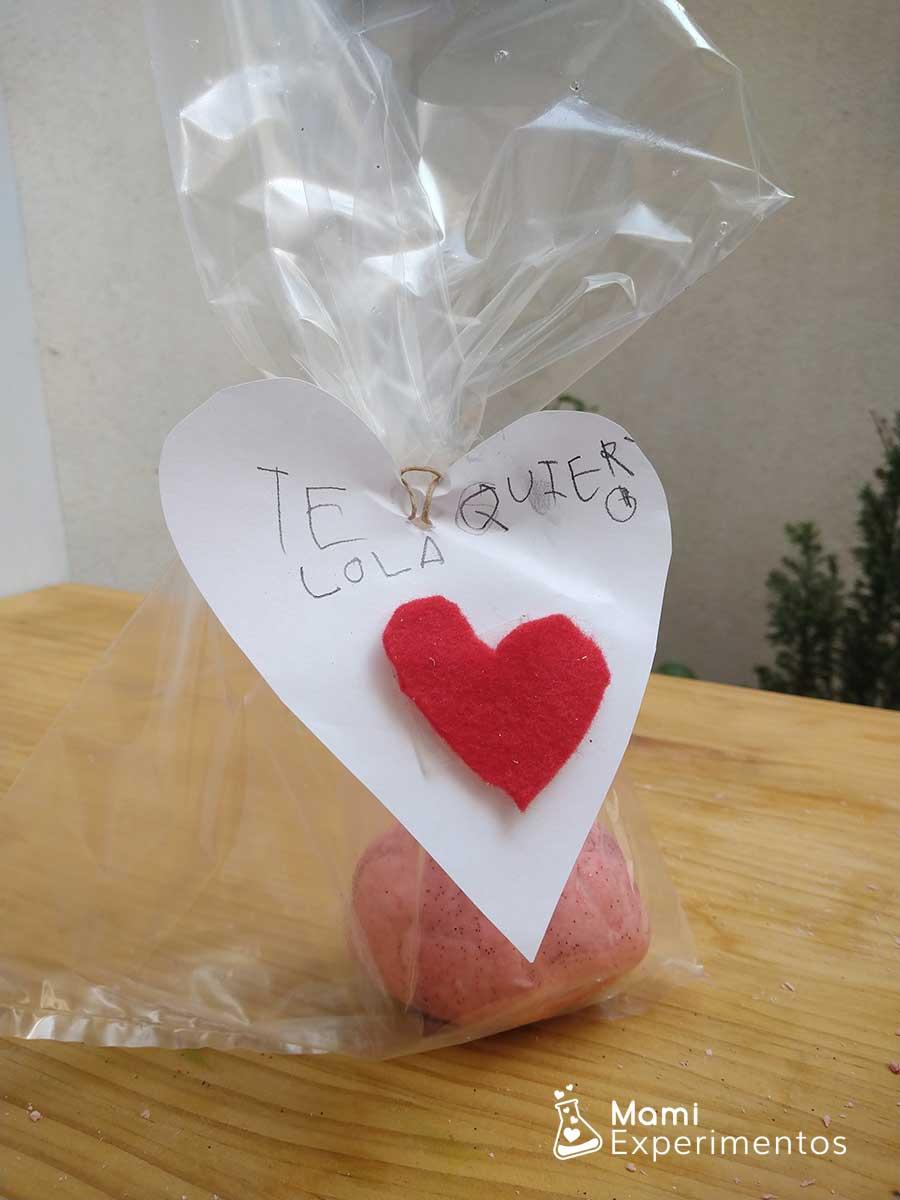 REgalo plastilina casera amor y amistad