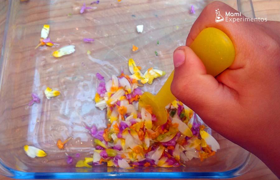 Remover pétalos para slime flower power