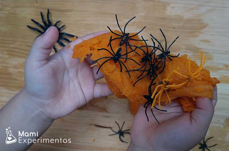 Slime de calabaza especial halloween