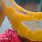 Como hacer slime casero de calabaza
