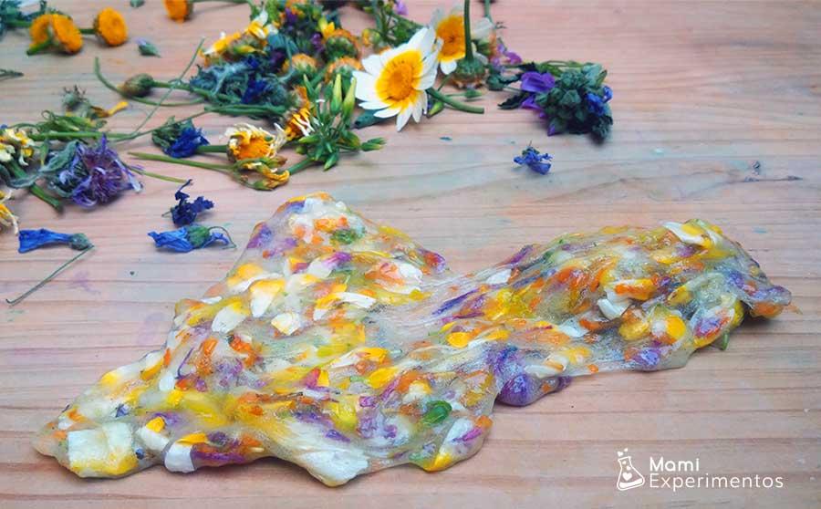 Slime flower power de primavera