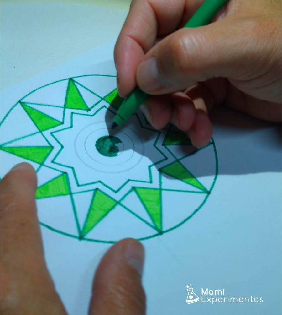 Spiner creado por papá especial día Andalucía